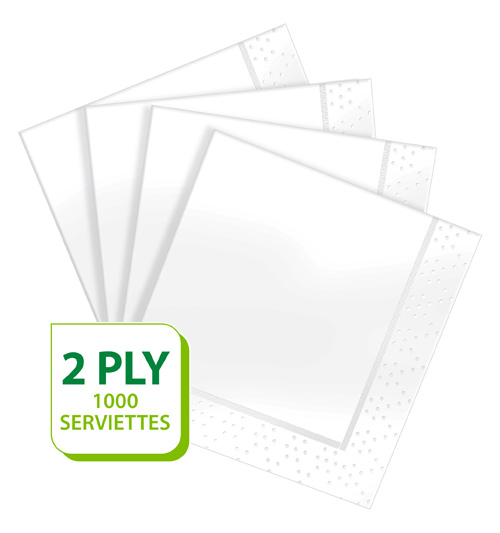 Twinsaver Away From Home Paper Serviettes