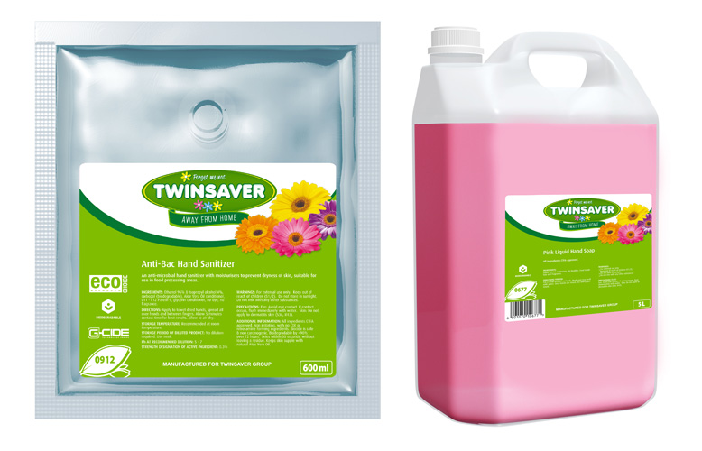 Twinsaver Away From Home Foam Soap